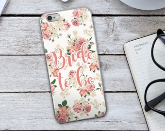Bride to be iPhone Case - Bride to be Case - Bride to Be - Pink iPhone Case - Vintage Case iPhone Case - Floral iPhone Case