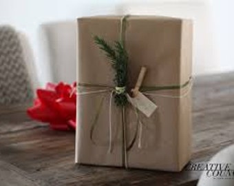 Gift Wrapping for Small Size Package