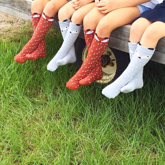 Tots Fox socks trendy tots accessories kids by