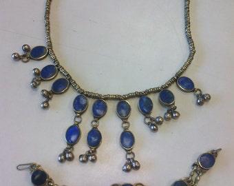 parure de bijoux ethnique  ,boho
