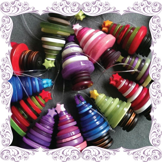 Button Christmas Trees: Unavailable Listing On Etsy