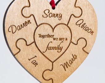 Wooden Family Tree Etsy