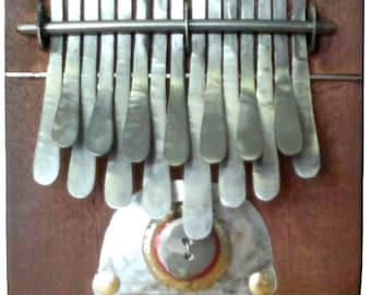 Kalimba in B Handmade 15 keys | FREE worldwide shipping | Including instrument bag | Thumb Piano, Nyunga Nyunga, African Instrument