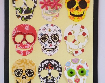 Sugar  Skull Cut Outs