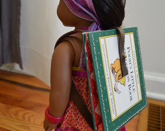 """Pooh's Little Instruction Book Backpack for 18"""" play dolls such as American Girl® Dolls"""