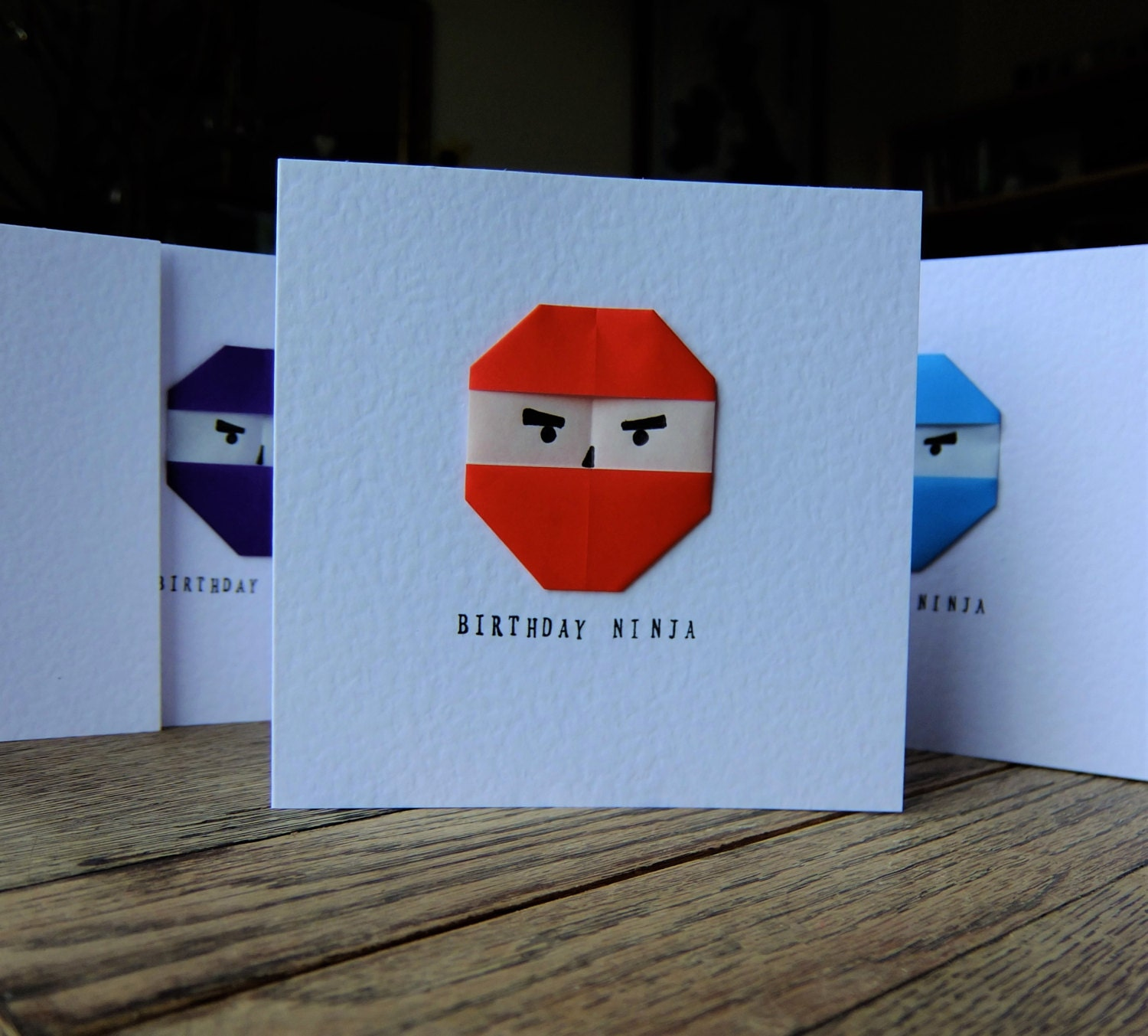 Origami Birthday Card – gangcraft