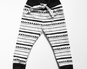 Baby/ Toddler/ Kids/ Handmade/ Organic Cotton/ Drawstring Pants