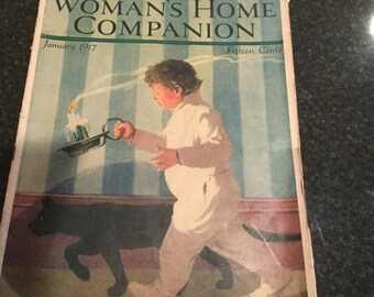 1917 Woman's Home Companion Magazine