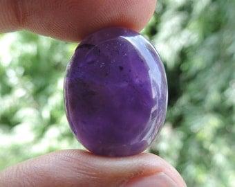 Amethyst dark purple Cabochon