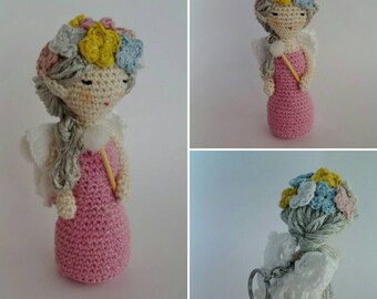 keychains amigurumi fairy