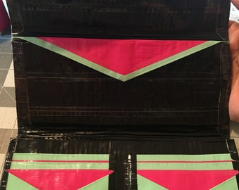 Basic Woman's Duct Tape Wallet