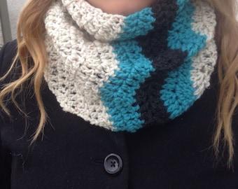 SALE! Zigzag infinity scarf