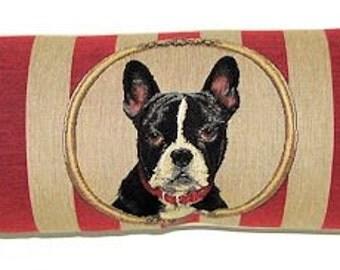 dog draft stopper boston terrier draught stopper king cavalier draught excluder dog lover gift - BOL-5330
