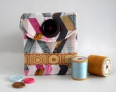 Gift Card // Business Card Holder In Geometrics And Honeycomb