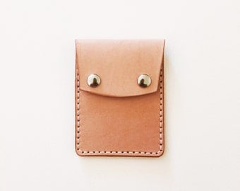 Leather wallet cardholder