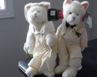 Bride & Groom  Cats by Russ