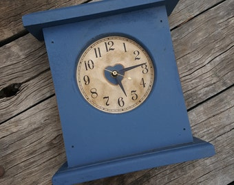 Sale, Vintage Country Home Clock, Mantel Clock