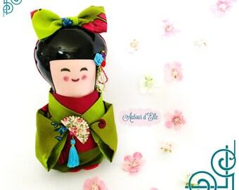 Japanese doll Kokeshi of creative collection Kokeshi
