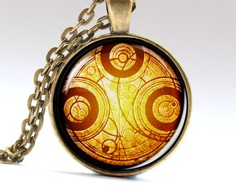 Time Machine, Tibet Necklace, Mongolian Jewelry, Steampunk Pendant, Necklaces Pendants Jewellery  LG847