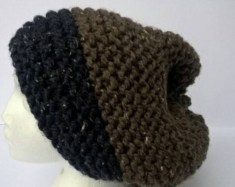Extra large slouchy beanie hat, hats, winter hats. men's gift,  men's hats. beanie hat, dreadlock hat, *ready to ship* free UK shipping.