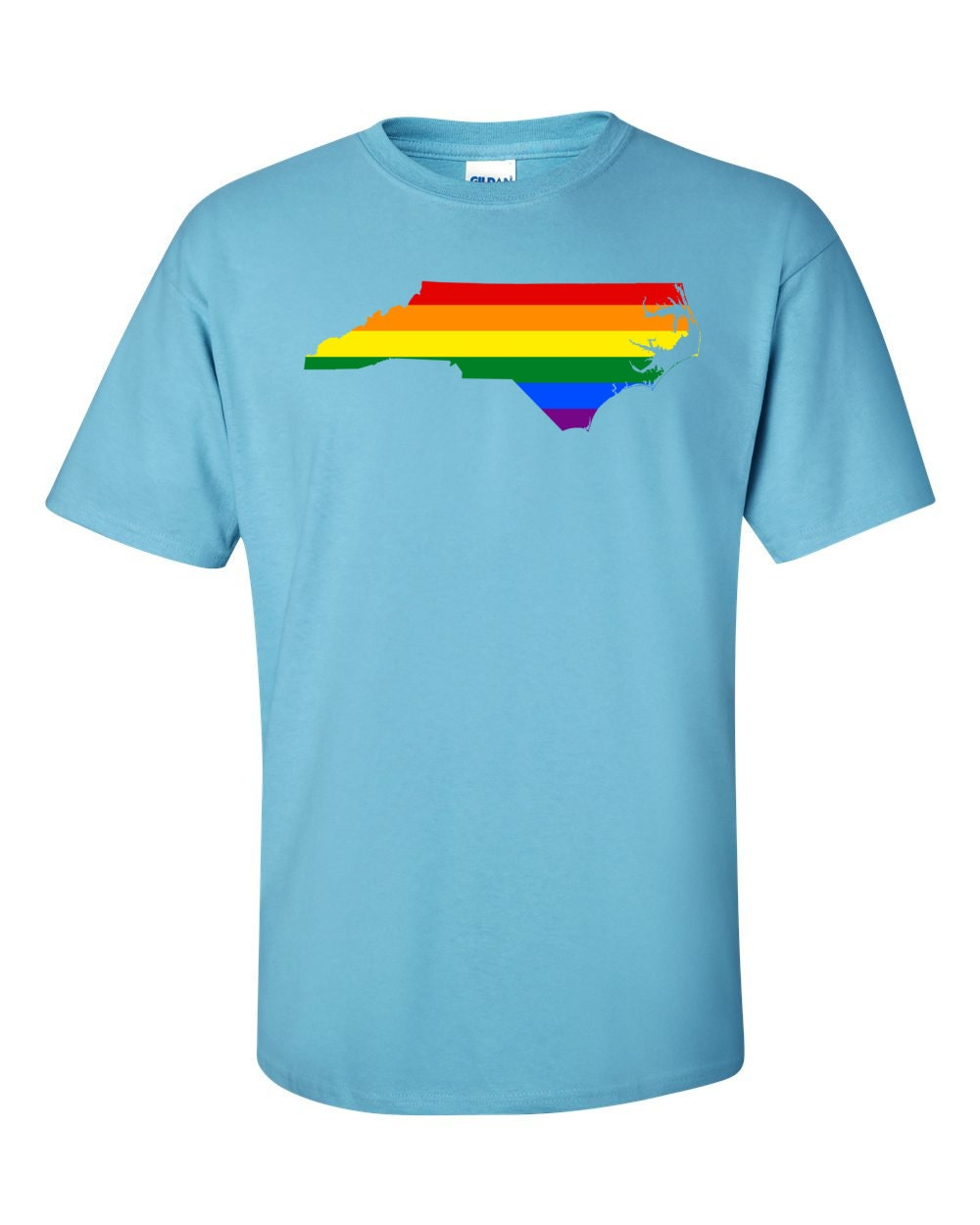 Gay Pride Shirt - Gay Pride in North Carolina - Gay Pride T-shirt