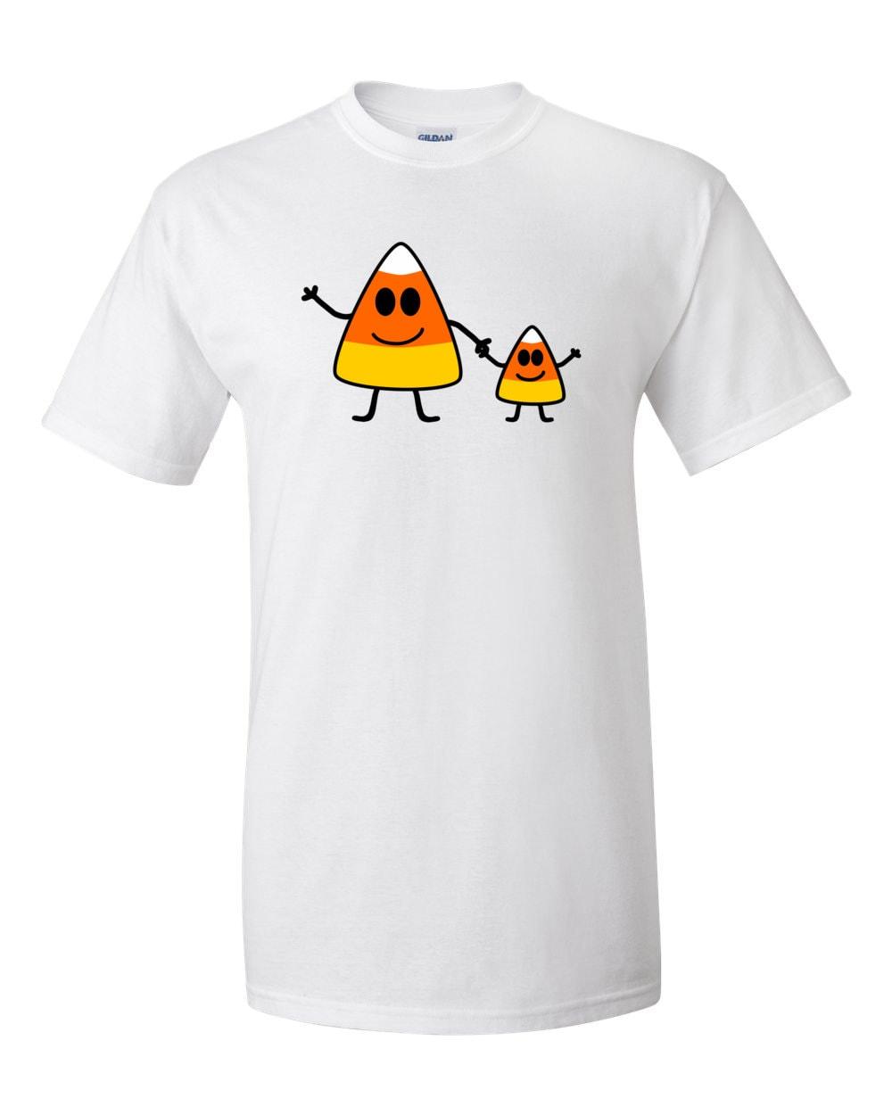 Cute Candy Corn Family Halloween T-shirt
