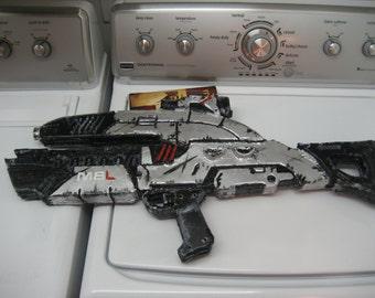 Mass Effect Inspired Assault Rifle Cosplay Prop