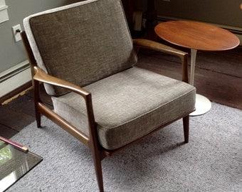 Kofod Larsen for Selig lounge chair made in Denmark 1960's