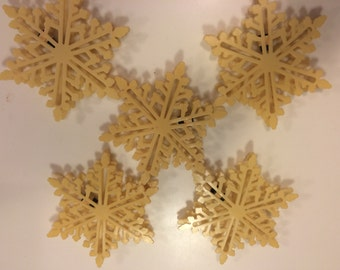 Vintage snowflake light covers