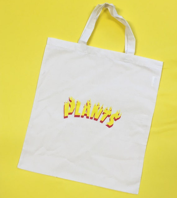 FIRE PLANTS TOTE