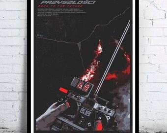 BACK to the FUTURE - alternative movie poster / print Michael J. Fox Christopher Lloyd Robert Zemeckis Crispin Glover