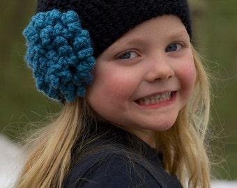 Crochet girls hat 4t