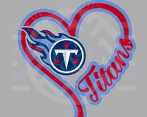 Tennessee Titans Heart & Soul Pullover Hoodie Grey