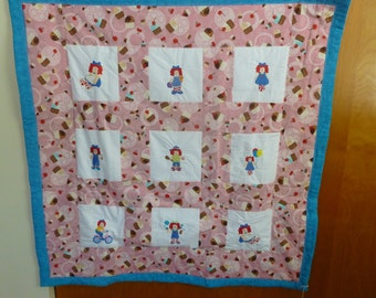 Raggedy ann quilt | Etsy : raggedy ann quilt pattern - Adamdwight.com