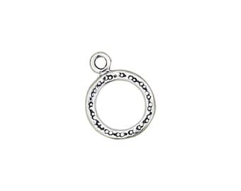 Designer Toggle Clasp -Sterling Silver (#5084)