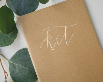 Personalized Journal | Original Calligraphy