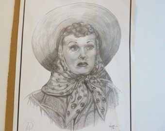 Dale Adkins, Collectible Art, Lucille Ball