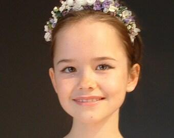 Childrens Alice Band, Flower Girl Headdress, Bridesmaid Headdresses, Flower Headdress, Childrens Wedding Headdresses