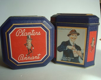 Planters Pennant collectible tins  - one tins