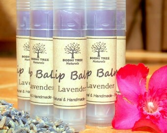 Lip ReNew Lavender Lip Balm - Exfoliating lip balm - Natural Lip balm - Handmade lip balm