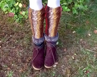 Indian blanket boot cuff pattern, cute boot topper pattern, easy knitting pattern, boot cuff pattern, warm boot cuff pattern, wool knit