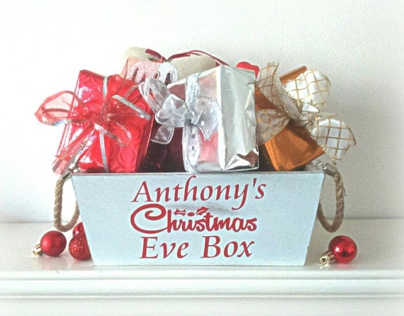 Eve box wooden box christmas eve gifts for children xmas eve box