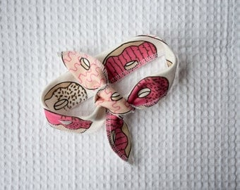 Headband in hip print 100% organic cotton