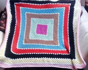 Afghan throw