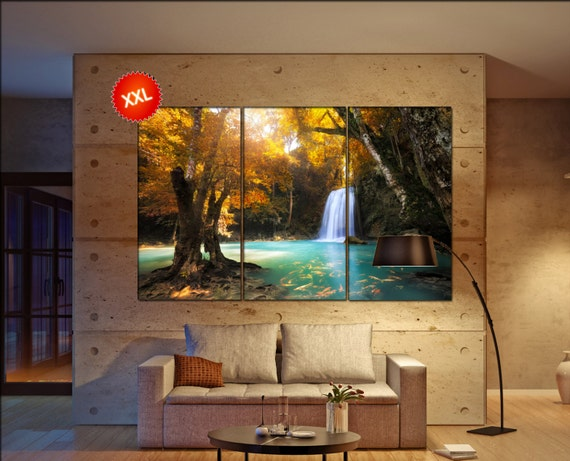 Deep forest  canvas wall art Deep forest wall decoration Deep forest canvas wall art art Deep forest large canvas wall art  wall decor