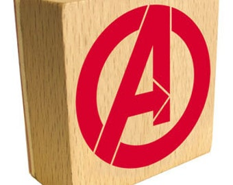 Avengers Classic Logo Rubber Stamp