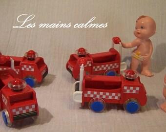 Fire truck miniature 10eme and 12eme
