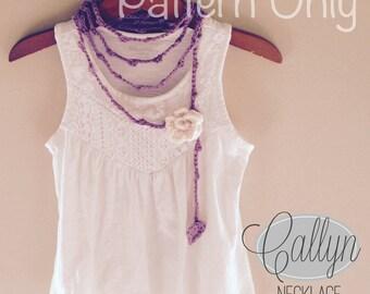 Callyn Necklace (Crochet Pattern)