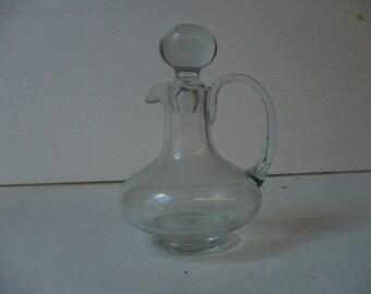 Clear Glass Oil / Vinegar Server