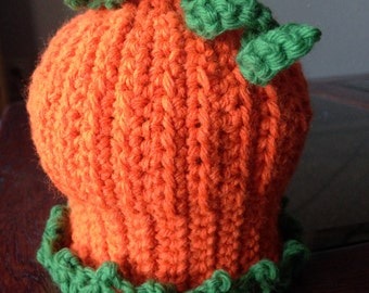 Pumpkin Hat Infant Sized